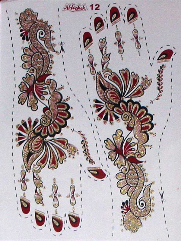 indische henna motive abstract floral henna indische. Black Bedroom Furniture Sets. Home Design Ideas