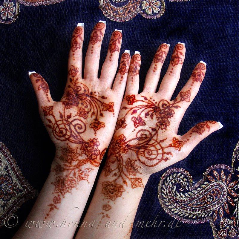 Haare mit henna schwarz farben anleitung
